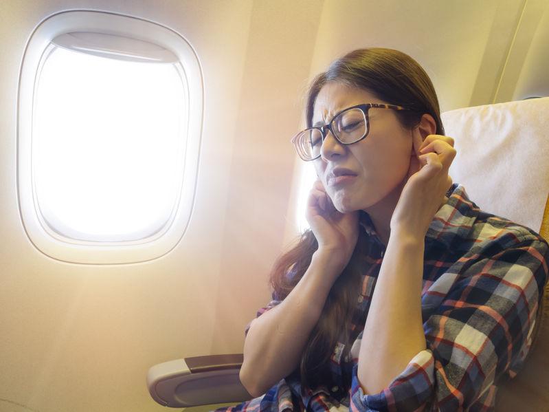 Que se passe-t-il dans nos oreilles lors de voyage en avion?